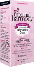 INTERNAL HARMONY PROGESTERONE CREAM Vitamin E B6 B12 2000IU D Emerita Pro-gest