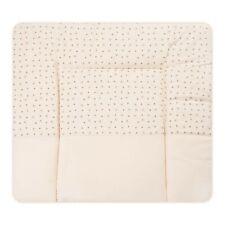 Wickelauflage Wickeltischunterlage Wickelauflage Baby Auflage beige 73 x 85 cm