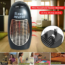 400W Mini Furnace Portable Plug-in Electric Wall-outlet Space Heater 220V UK Hot