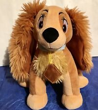 Disney Lady and the Tramp Disney Store Exclusive Plush Lady Stuffed Spanial