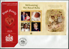 Papua New Guinea. 2018. Prince Louis Arthur Charles (Mint) First Day Cover