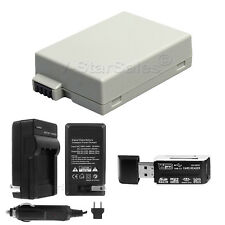 LP-E8 Battery + Charger + BONUS for Canon EOS T2i T3i T4i T5i 650D 700D