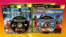 Project Gotham Racing 1 & 2 Complete Rare Race Game Bundle Microsoft Xbox, 2001