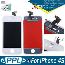For iPhone 4S LCD Display Touch Screen Digitizer Assembly Replacement White UK