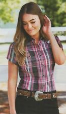 Cotton Blend Casual Button Down Shirts for Women