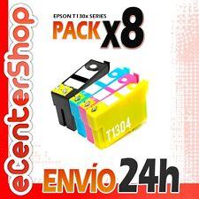 8 Cartuchos T1301 T1302 T1303 T1304 NON-OEM Epson WorkForce WF-7515 24H