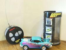Tyco R/C Canned Heat | Radio Control teal & purple Car 49 MHz