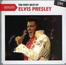 Elvis Presley - Setlist: The Very Best of Elvis Presley Live [New CD]