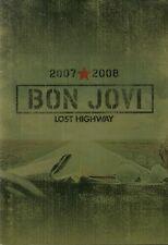 BON JOVI 2007 LOST HIGHWAY TOUR CONCERT PROGRAM BOOK / RICHIE SAMBORA / NM 2 MNT