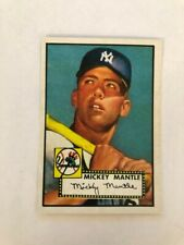 1952 Topps Mickey Mantle Novelty Card