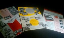 3 Hickok Instrument Foldout Product Catalog Posters Tube Testers Conductance