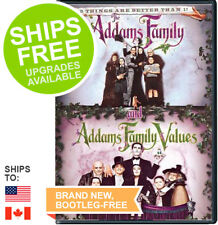 Addams Family / Addams Family Values Double Feature (DVD, 2013) NEW, Sealed