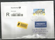 A/LP-Brief über 50g von Deutschland-Österreich vom 13.12.17