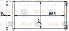Kondensator, Klimaanlage für Klimaanlage HELLA 8FC 351 301-721