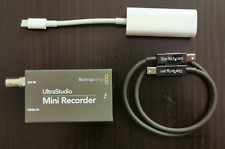 Blackmagic Design UltraStudio Mini Recorder (Thunderbolt 3 Bundle)