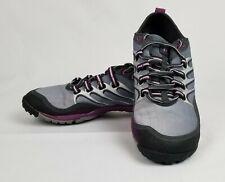 Womens Merrell Barefoot Lithe Glove Dark Shadow Gray/Purple Shoes Size US 7.5