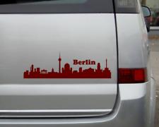Berlin Skyline Aufkleber Sticker 25 Farben 9 Größen Autoaufkleber Autosticker