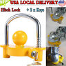 """Heavy Duty Universal Coupler Hitch Trailer Lock fits 1-7/8"""", 2"""" and 2-5/16"""" Supe"""