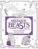 Fantastic Beasts And Where To Find Them Magical Creatures Coloring Book Harpe