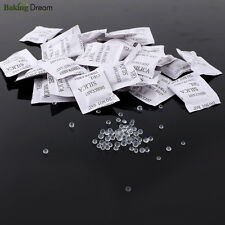 100 Pcs Dry pack 1 Gram 1g Silica Gel Packets Desiccants desiccant Drypack