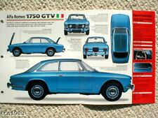 1970's ALFA ROMEO BROCHURES Collection: GTV,Montreal,Alfasud,