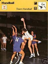 TEAM HANDBALL 1977 FOCUS ON SPORTS CARD