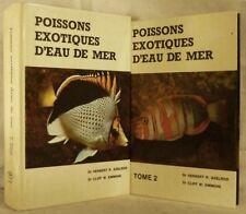 POISSONS EXOTIQUES D'EAU DE MER. (I-II). (1975)