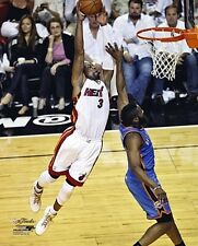 DWYANE WADE 2012 NBA Finals Game-3 DUNK Miami Heat LICENSED poster 8x10 photo