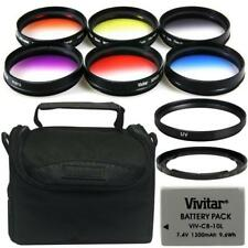 67mm Filters with Accessory Bundle for Canon Powershot SX40, SX50 and SX60
