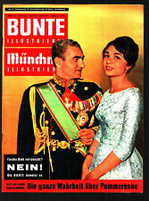 Bunte Münchner Illustrierte 19.11.1960 May Britt, VW 1960
