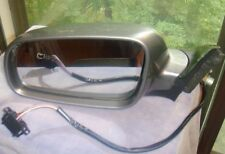 USED 3B0 857 933 VW PASSAT left driver side exterior power mirror gray silver