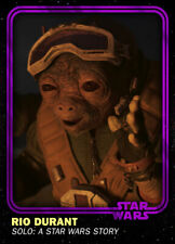 Topps Star Wars Card Trader SWCT 4th Anniversary Base Purple Rio Durant