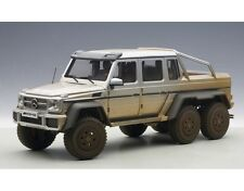 Mercedes-Benz G63 Amg 6X6 Silver Muddy Edition 1:18 by Autoart 76305 Brand New