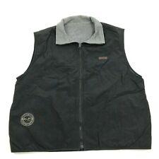 VINTAGE Timberline Jacket Vest XL REVERSIBLE Mountain States Concrete Pipe Assoc