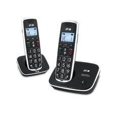 Teléfono Inalámbrico SPC 7609N Duo Negro