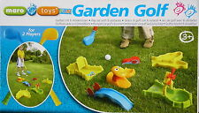 Mini Golf Gartenset mit 6 Hindernissen Kindergolf Golfset Minigolf Maro Toys