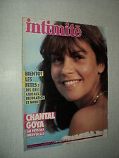 INTIMITE 1986 (12/83) CHANTAL GOYA JEAN-JACQUES DEBOUT PATRICK SABATIER MENEZ