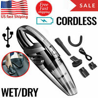 Cordless Hand Held Vacuum Cleaner Small Mini Portable Car 120W Home Wireless US