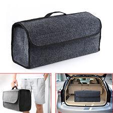 Car Van Grey Carpet Boot Storage Bag Organiser Tools Breakdown Travel Tidy Large