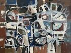 SHERRY SCHRUT Original Signed Mid Century Abstract Oil Painting LISTED c. 1960
