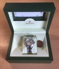 Sehr schöne Rolex Datejust Damenuhr in Edelstahl Mediumgröße Referenz Nr.178240