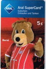 Aral Supercard * Berni * bayern munich * Edition 2017/18 * sin haberes *