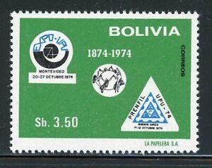 Bolivia MNH Scott #561 UPU Centenary Philatelic EXPO $$
