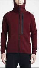 NWT MEN'S NIKE TECH FLEECE HERO ZIP-UP HOODIE (RED) 708095 677 SZ XXL 2XL