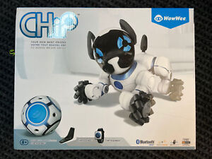 CHIP Interactive Puppy Dog Robot By WowWee + Watch + Ball + Bed - Factory Sealed