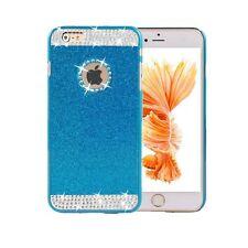 iPhone 6/ 6S Crystal Rhinestone Blue/ Sparkle Glitter Protective Diamond Cover