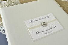 Hochzeit Foto Album Groß Personalisiertes Foto Album 50 Seiten / 100 Seiten