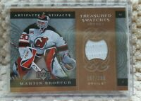 Martin Brodeur 2007-08 Upper Deck Artifacts Treasured Swatches/299 #TS-MB Card