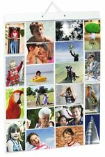 Picture Pockets Large Size A Hanging Photo Gallery - 40 photos in 20 pockets