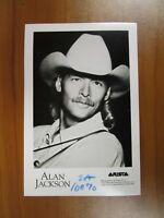 Vintage Glossy Press Photo Alan Jackson Country Honky Tonk Singer Song Writer #1